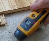 A moisture meter is a must have tool in Gumpher Home Inspections tool kit. It takes the guess work out of, is it just a stain or has it leaked recently and been left to dry.