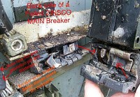 Another angle of failed ZINSCO breaker