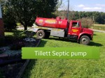 We use a local company to pump the tanks for inspection, very cost efficient